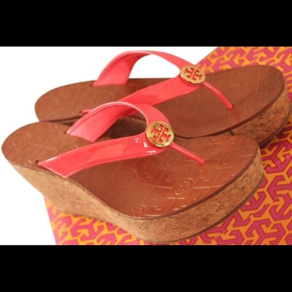 Tory Burch Shoes - Tory Burch Thor's wedge flip flop sandle